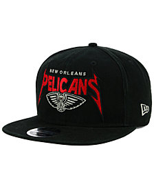New Era New Orleans Pelicans 90s Throwback Groupie 9FIFTY Snapback Cap
