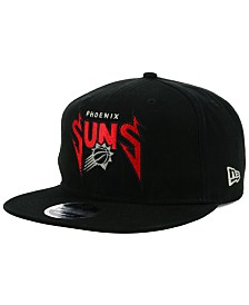 release date 0f4ff 38381 New Era Phoenix Suns 90s Throwback Groupie 9FIFTY Snapback Cap