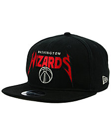 New Era Washington Wizards 90s Throwback Groupie 9FIFTY Snapback Cap