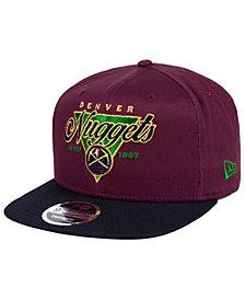 New Era Denver Nuggets 90s Throwback 9FIFTY Snapback Cap