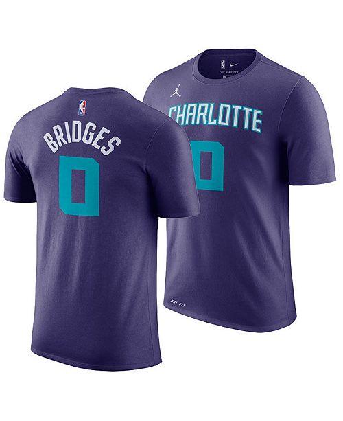 ... Jordan Men s Miles Bridges Charlotte Hornets Statement Player T- ... d2920dd49