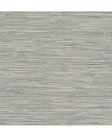 Tibetan Grass cloth Peel and Stick Wallpaper