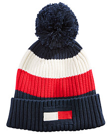 Tommy Hilfiger Men's Colorblocked Pom Hat