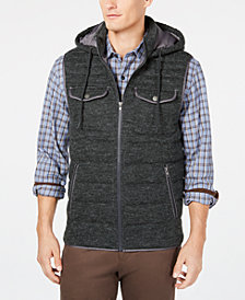 Tasso Elba Men's Turin Puffer Vest, Created for Macy's