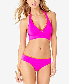 Anne Cole Halter Bikini Top & Bottoms