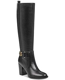 Tommy Hilfiger Women's Deeanne Block-Heel Boots