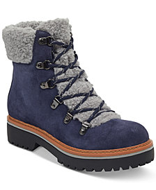 Tommy Hilfiger Women's Ron Lace-Up Cold-Weather Boots