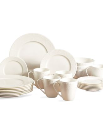 Gorham Dinnerware Callington 40 Piece Set Service for 4  sc 1 st  Macy\u0027s & Gorham Dinnerware Callington 40 Piece Set Service for 4 - Fine ...