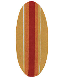 "Liora Manne Front Porch Indoor/Outdoor Stripeboard 1'11"" x 6' Area Rug"