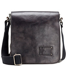 Patricia Nash Men's Leather North South Crossbody Bag