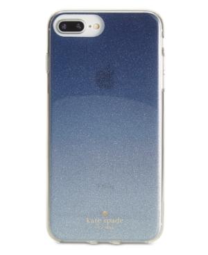 Kate Spade New York Glitter Ombre Iphone 8 Plus Case In Blue ... cb7ee5826e