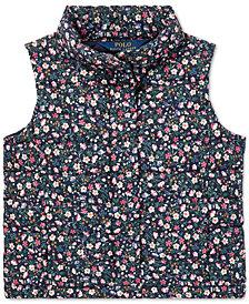 Polo Ralph Lauren Men's Floral-Print Quilted Vest
