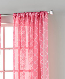 "Jess 54"" X 84"" Rod Pocket Curtain Panel"