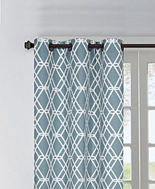 "Magnus 37"" X 84"" Pair of Grommet Top Curtain Panels"