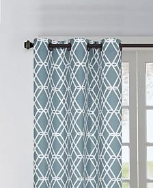 """Magnus 37"""" X 84"""" Pair of Grommet Top Curtain Panels"""