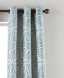 "Viona 37"" X 84"" 2 Pack of Grommet Top Curtain Panels"