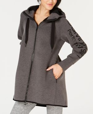Performance Dolman-Sleeve Hooded Walker Jacket, Gray