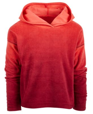 Image of Ideology Big Girls Ombré Fleece Hoodie, Created for Macy's