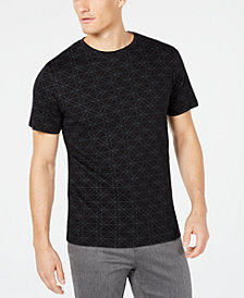 Ryan Seacrest Distinction™ Men's Geometric T-Shirt, Created for Macy's