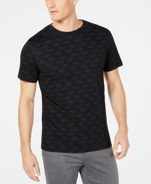 Ryan Seacrest Distinction Men's Geometric T-Shirt, Created for Macy's
