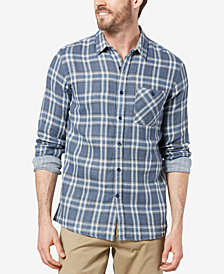 Dockers® Men's Double-Weave Plaid Shirt