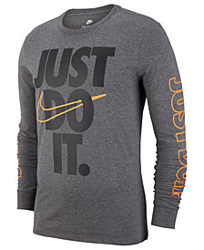Nike Big Boys Just Do It-Print Cotton T-Shirt
