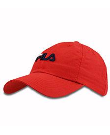 Fila Logo Baseball Cap