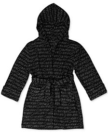 Calvin Klein Big Boys Printed Hooded Wrap Robe