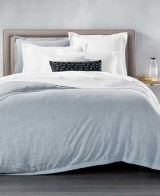 CLOSEOUT! Linen Full/Queen Duvet Cover, Created for Macy's