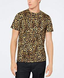 GUESS Men's Leopard Graphic T-Shirt