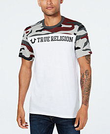 True Religion Men's Camo-Print T-Shirt