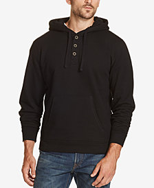 Weatherproof Vintage Men's Regular-Fit 1/4-Button Hoodie