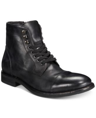 Men\u0027s Ben Cap,Toe Leather Lace,Up Boots, Created for Macy\u0027s