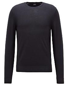 BOSS Men's Garment-Dyed Sweater