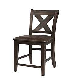 Spencer Non-Swivel Counter Stool, Set of 2