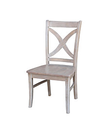 Cosmo Chair - Washed Finish, Set of 2