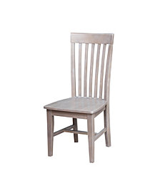 Cosmo Mission Chair - Washed Finish, Set of 2