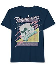 Star Wars Big Boys Retro Storm Trooper Graphic Cotton T-Shirt e371c2503