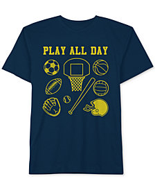 Jem Toddler Boys Play All Day Graphic Cotton T-Shirt