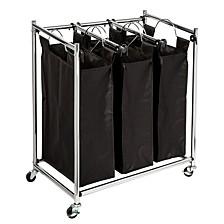 Easy Load Triple Laundry Sorter
