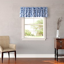 Laura Ashley Charlotte Blue Window Valance
