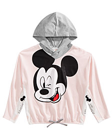 Disney Big Girls Mickey Mouse Hoodie