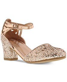 Little & Big Girls Sarah Time Sequin Shoes