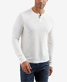 Lucky Brand Men's Snap Henley
