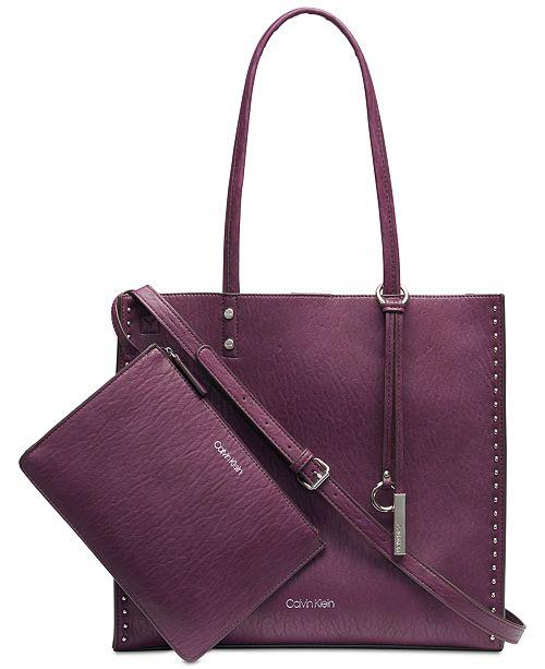 c9cd603d01c7 Calvin Klein Zoey Tote   Reviews - Handbags   Accessories - Macy s
