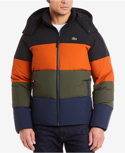 a69e40620fe0f Lacoste Men s Down Puffer Jacket   Reviews - Coats   Jackets - Men ...