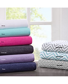 Intelligent Design Cotton Blend Jersey Knit Sheet Set Collection