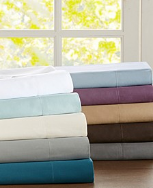 Sleep Philosophy 300 Thread Count Liquid Cotton 4-PC Sheet Set