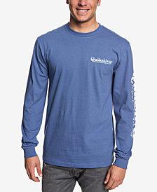 Quiksilver Men's Twin Fin Blend Logo Graphic T-Shirt