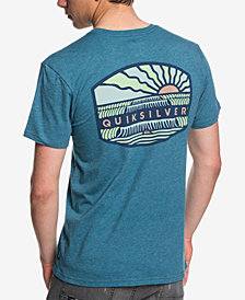 Quiksilver Men's Empty Line Up Logo Graphic T-Shirt